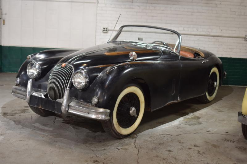 This 1959 Jaguar XK150 Roadster