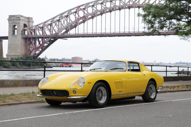 Original Giallo Fly 1967 Ferrari 275GTB Short-Nose: Classiche Certified with Red Book