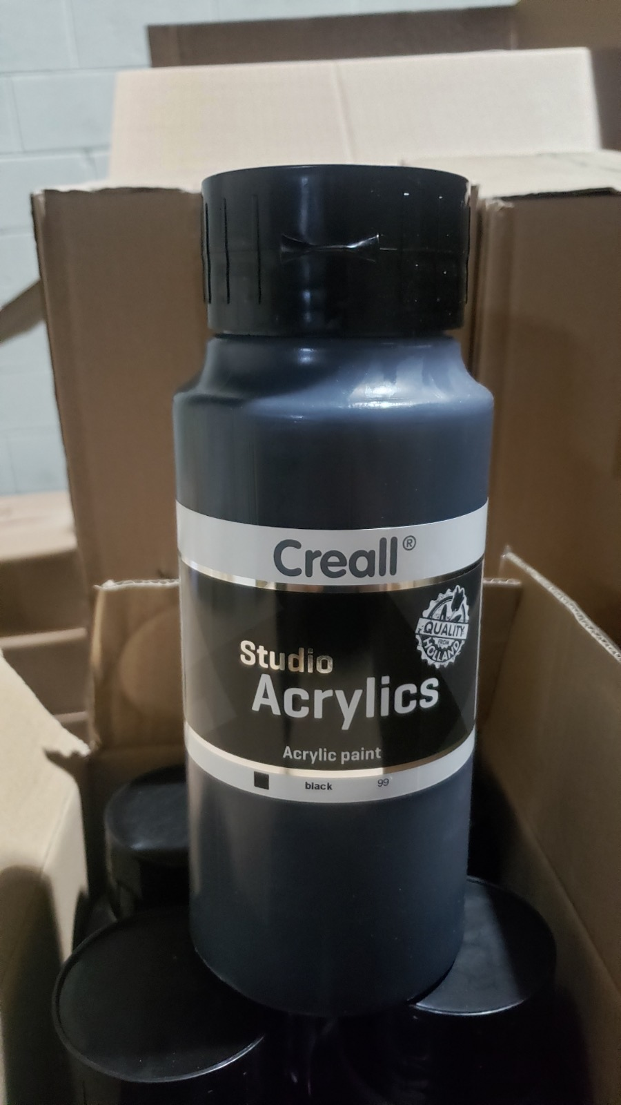 Creall Acrylic Paint for Art Projects and Hobbies - New Case Packed 6,144 Units