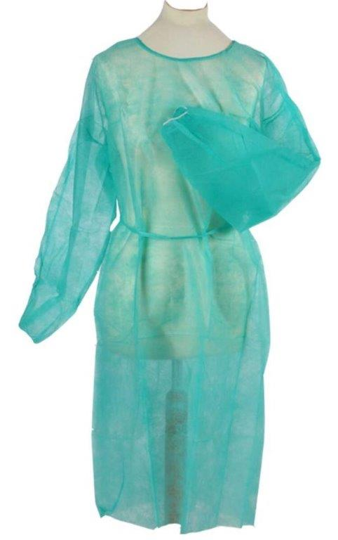 STOCK DISPOSABLE GOWNS.