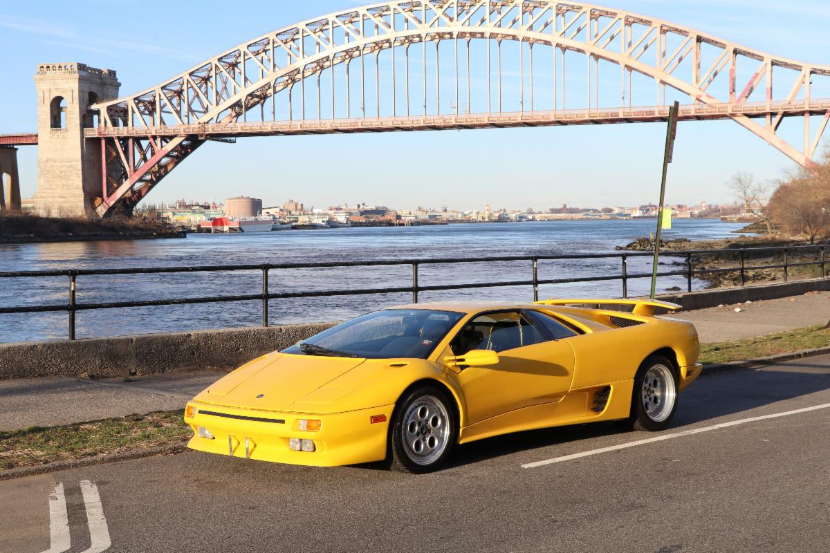 Iconic Super-Car: 1991 Lamborghini Diablo