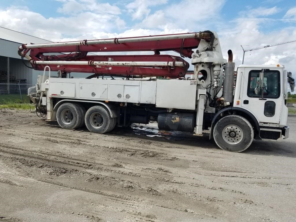 3 Schwing Concrete Pump Trucks - 32, 42, and 46 Meter - price reduced