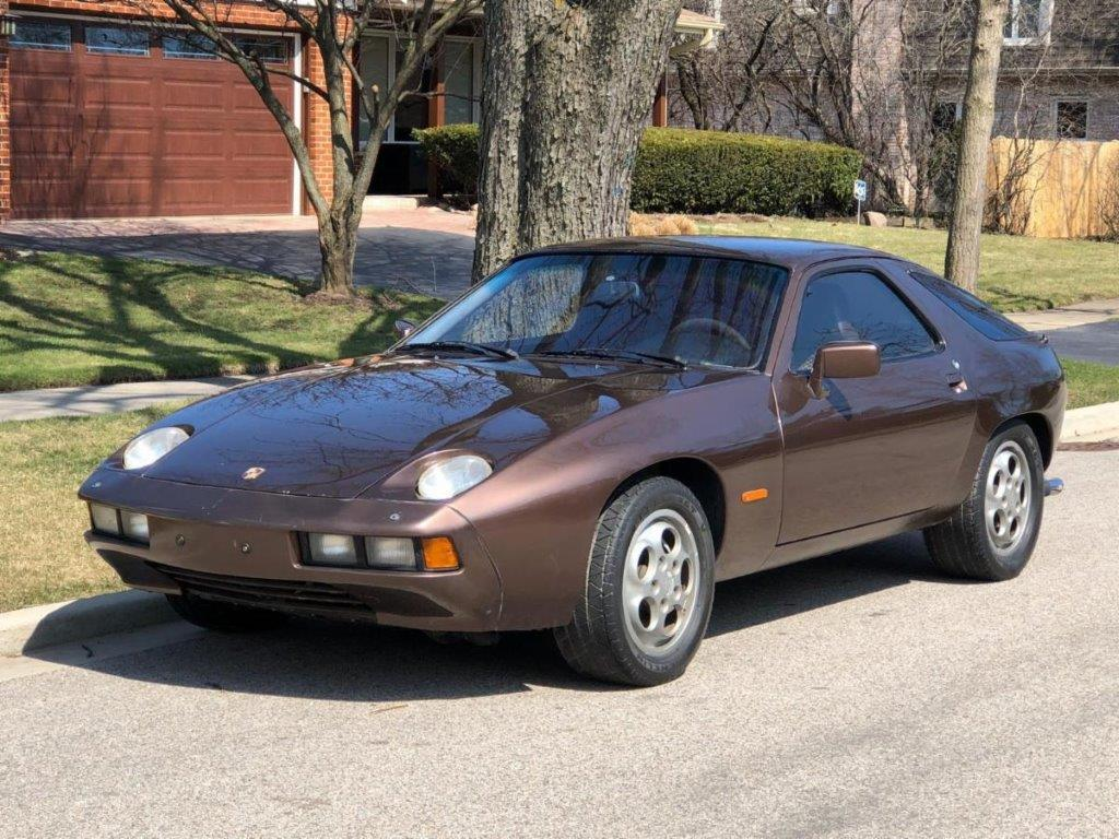 1978 Porsche 928 with Rare and Desirable 5-speed Manual Gearbox