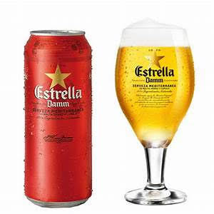 Estrella DAMM 24x50cl cans OFFER