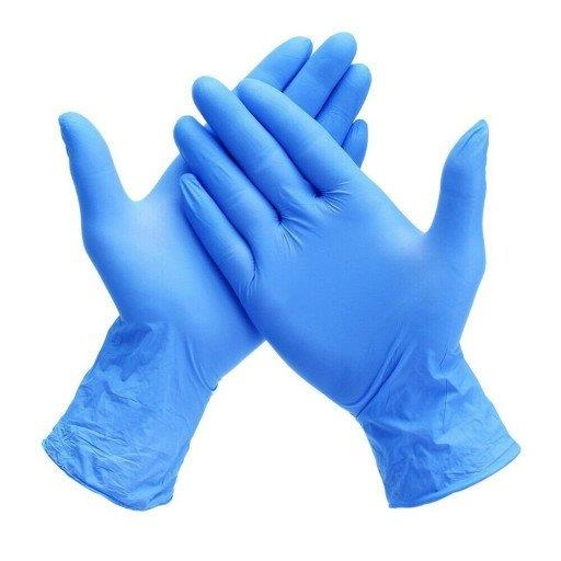 $12.75 Blue Nitrile Surgical Gloves - READY TO SHIP