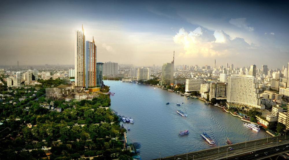 Ultra luxury riverfront residences, with legendary services provided by Mandarin Oriental