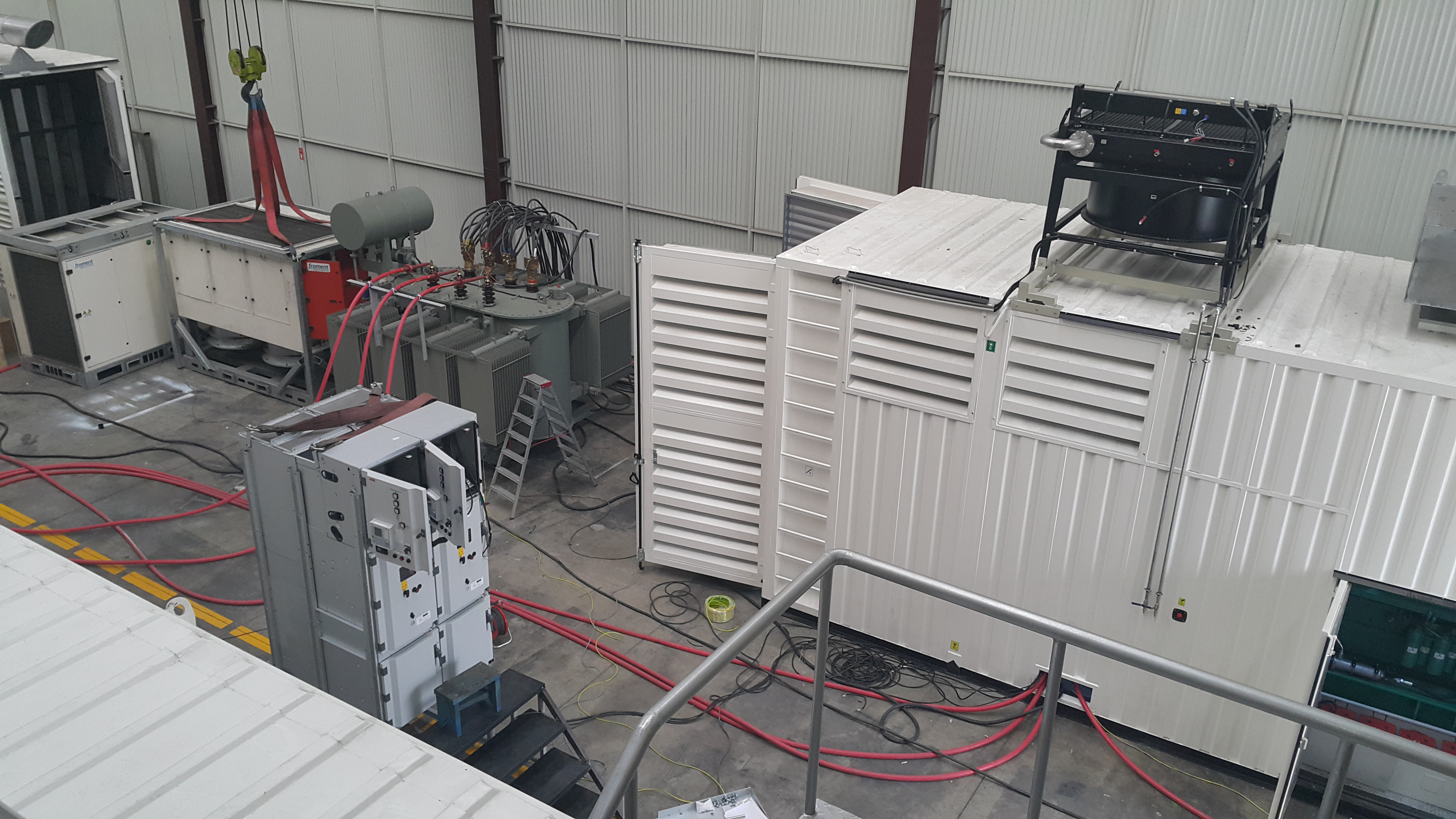 resend / load bank and transformer