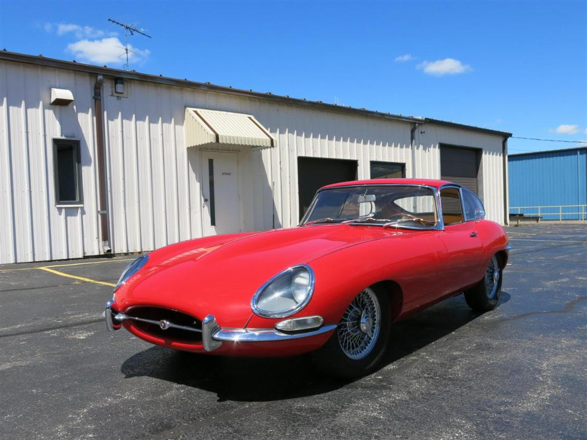 One of the Best Looking Designs of the 20th Century: 1965 Jaguar E-Type Series I Coupe