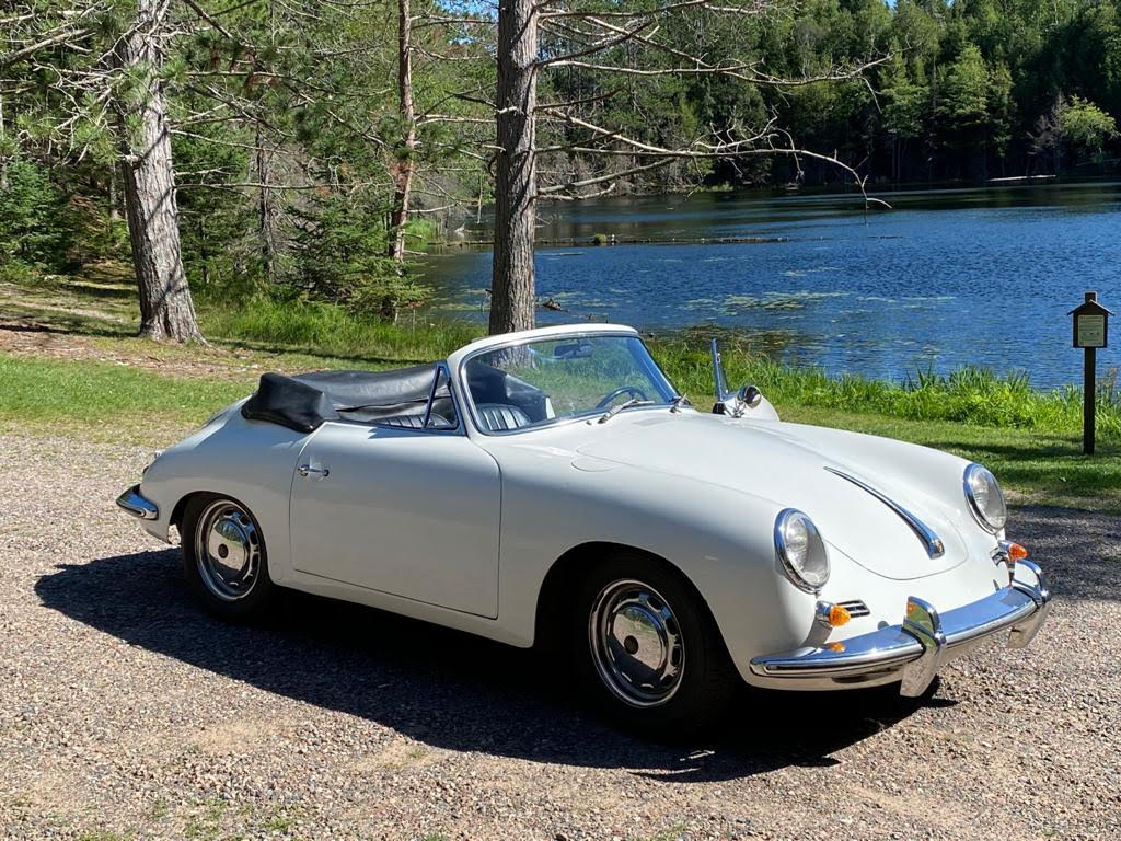 Highly Original 1964 Porsche 356SC Cabriolet: Excellent Driver with Factory Hardtop, Owners Manual, and Tools