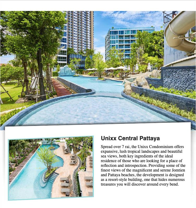 Unixx sea view - with over 500,000 baht in savings! ??
