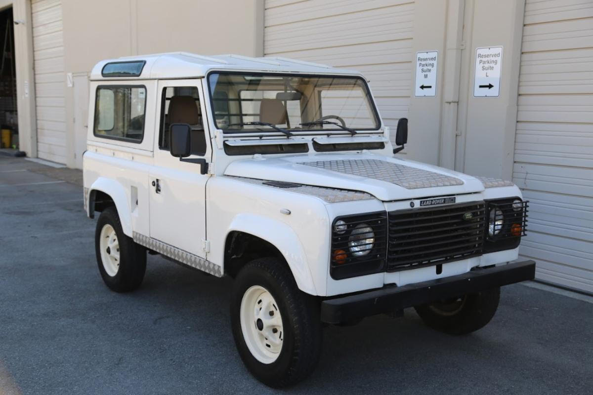 1990 Land Rover Defender 90 Left-Hand Drive with 5-Speed