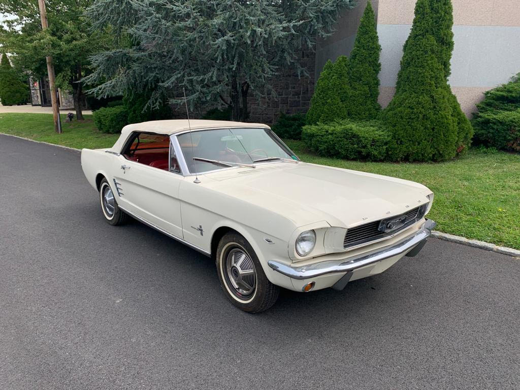 Add this Pony to Your Stable: 1966 Ford Mustang Convertible V8
