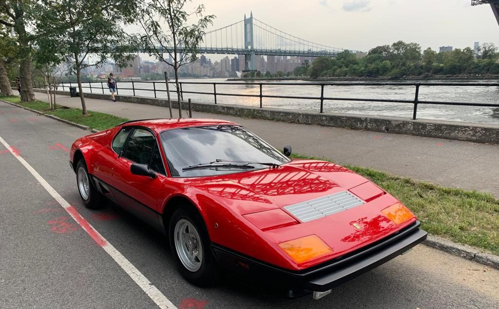 Stunning 1980 Ferrari 512 BB: Iconic Carbureted 512 in Fully Restored Condition