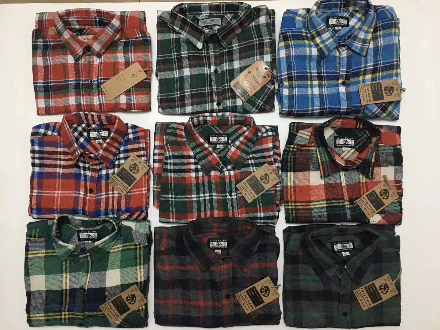 Stocklot Item GS20200918 50,600pcs of leisure shirt for men
