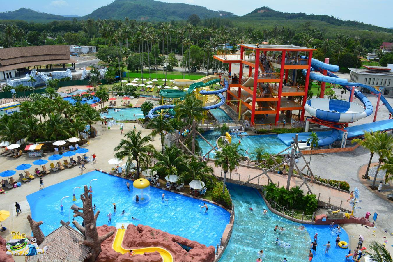 Another huge water park just opened to public-made by our associate in China