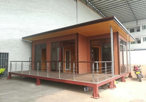 Prefab luxury low cost modular house