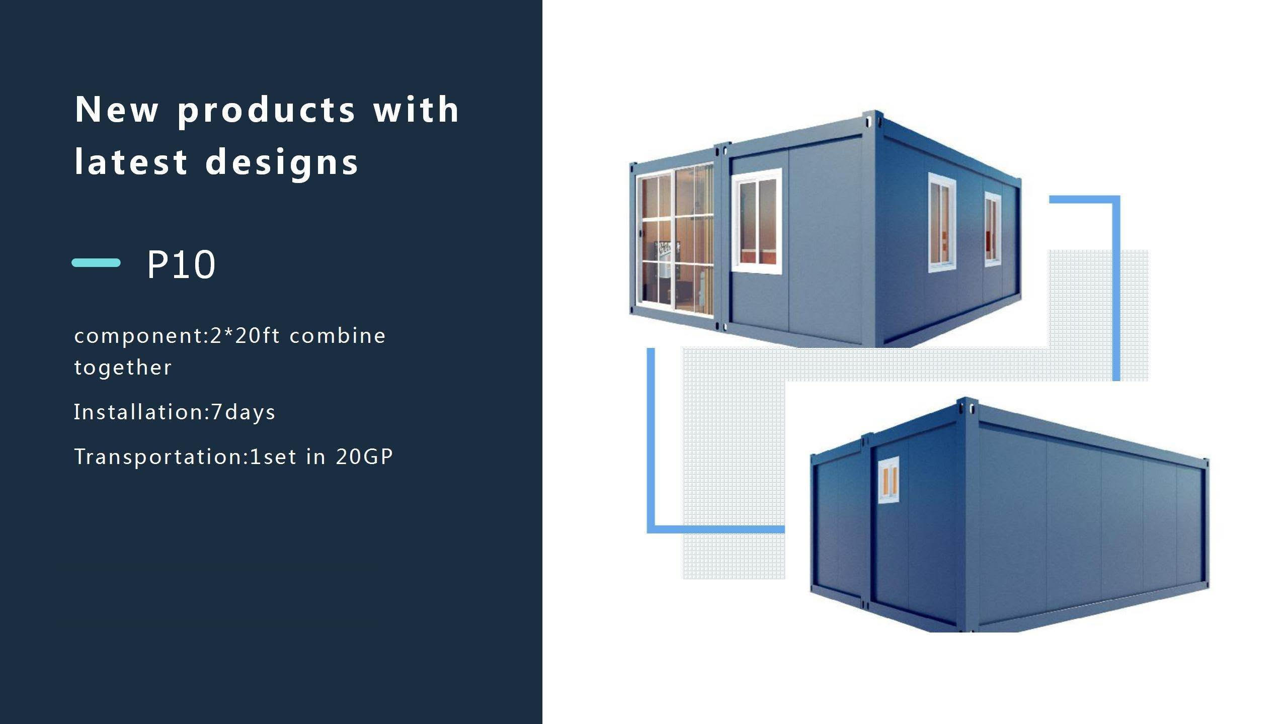 Prefab houses with ISO standard container~SM20200929