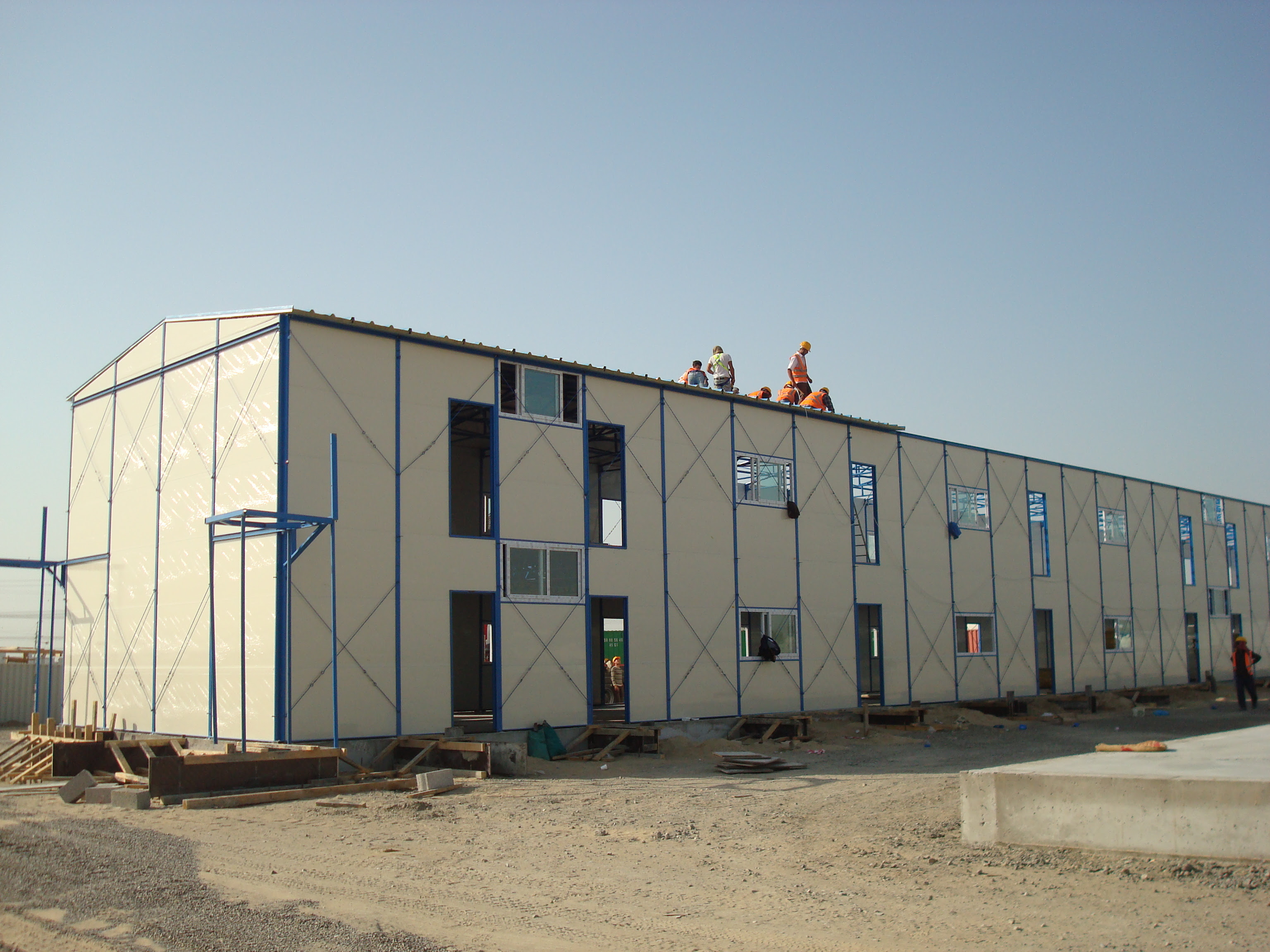 All brand new prefab house, labor camp, the workshop on sales with low cost