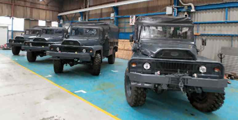 VLRA 4X4 Reco Vehicle