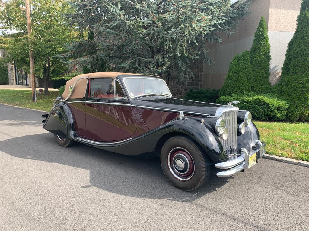 1951 Jaguar Mark V 3½-Litre Drophead Coupe LHD: One of fewer than 600 DHCs built in Left-Hand Drive