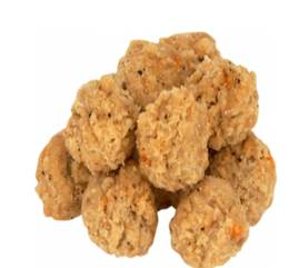 Special Buy: 4/7.61lbs Fully Cooked Breaded Sausage Chicken Popcorn Bites