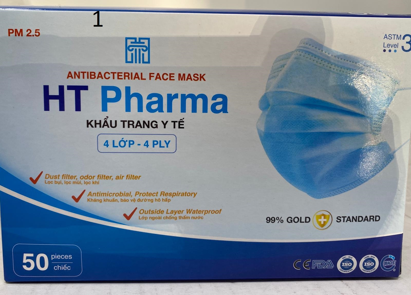 ASTM Level 2 & 3 Disposable Protective Face Mask USA