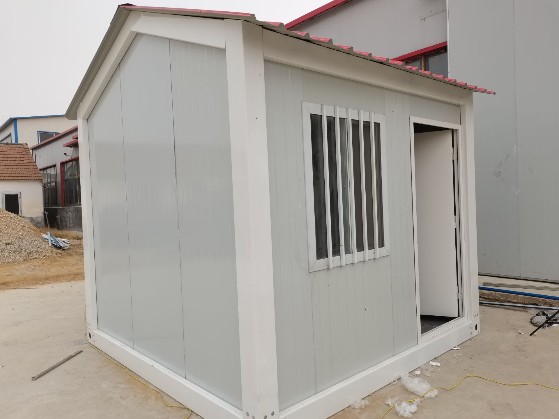 quotation for pitched roof collapsible container house