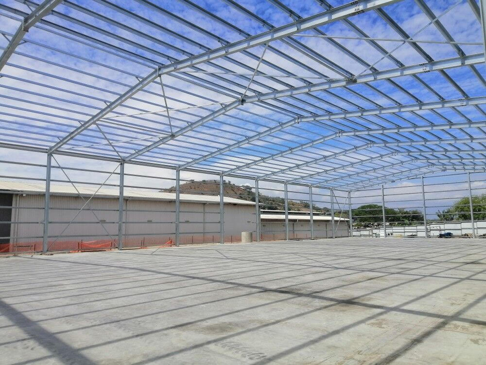 steel structure warehouse project