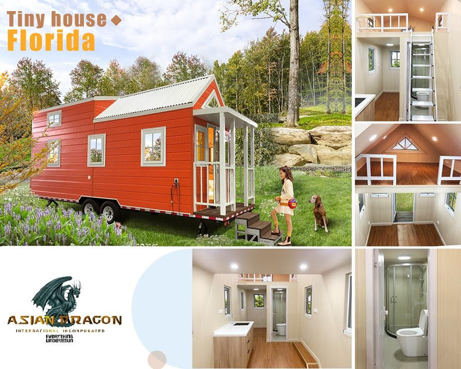Lovely Orange Tiny House