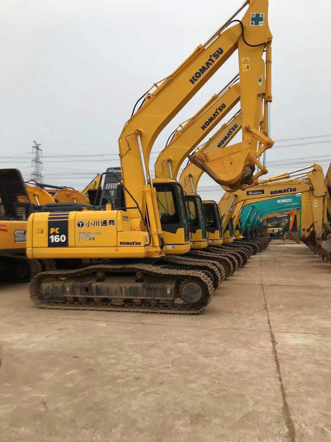 Used Komatsu PC160 Excavator for sale !!!