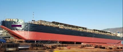 3000m3 SPLIT HOPPER BARGE FOR SALE