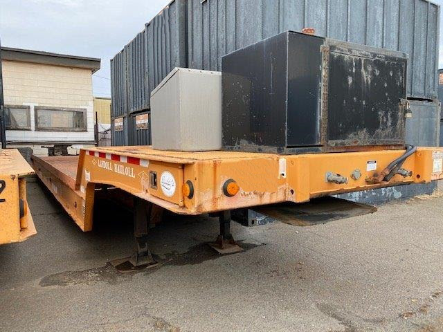 2006 & 2009 Landoll 317D 35ton Equipment Trailers