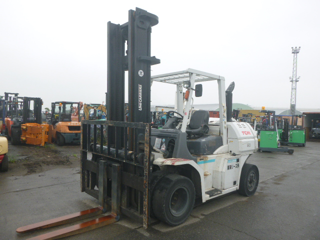 FORKLIFT TCM MODEL- FD60-3, YEAR 2014, HOURS 5346