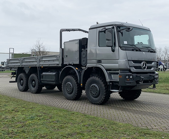 Weekly Update 11-01-2021 Mercedes-Benz Actros 3651-AK 8x8 Flatbed with sides
