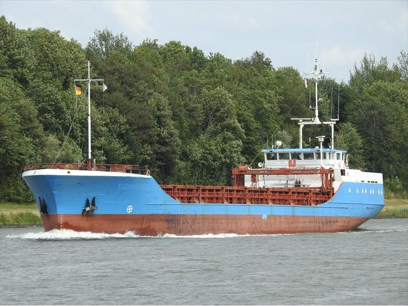 For Sale General Cargo Vessel 1610 DWT / 80 TEU