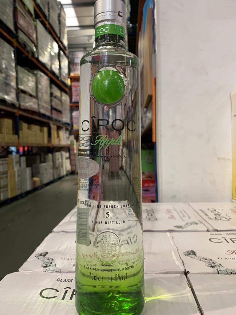 Vodka Ciroc Apple 6/70/37.5/REF/T1
