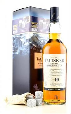 Talisker + Whisky Stone / Talisker + Hot Chocolate Kit