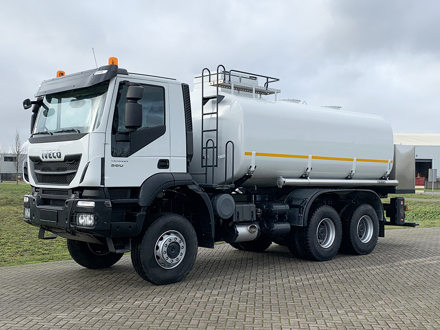 Weekly Update 27-01-2021 2 Units Iveco Trakker AD380T38WH ADR 6x6 Fuel Tank Truck - NEW