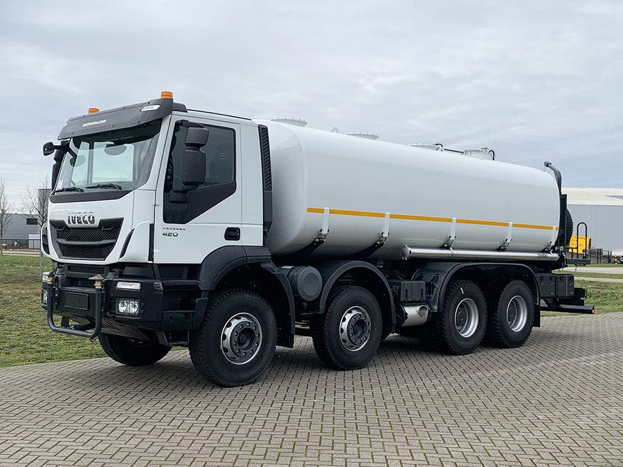 Weekly Update 09-02-2021 3 Units Iveco Trakker