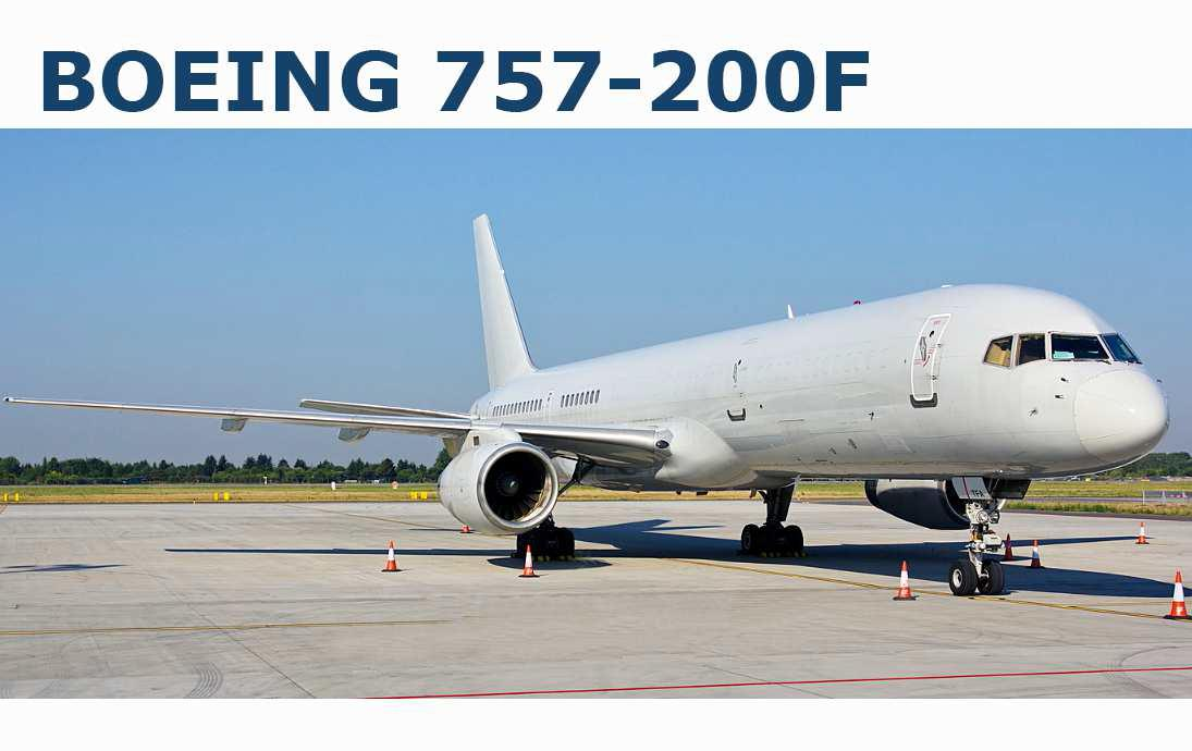 757-200F  Delivery Conditions & Pricing
