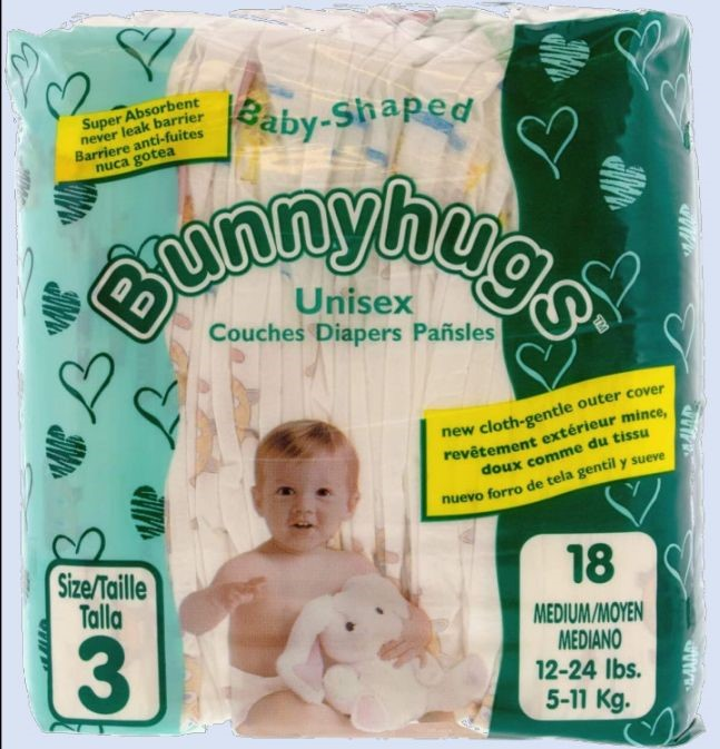 BUNNY HUGS DIAPERS --Offer