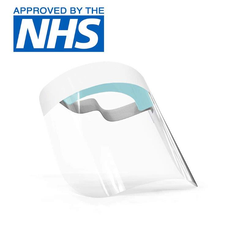 UK Made Professional Medical Anti-Fog NHS Approved Face Shields Europe