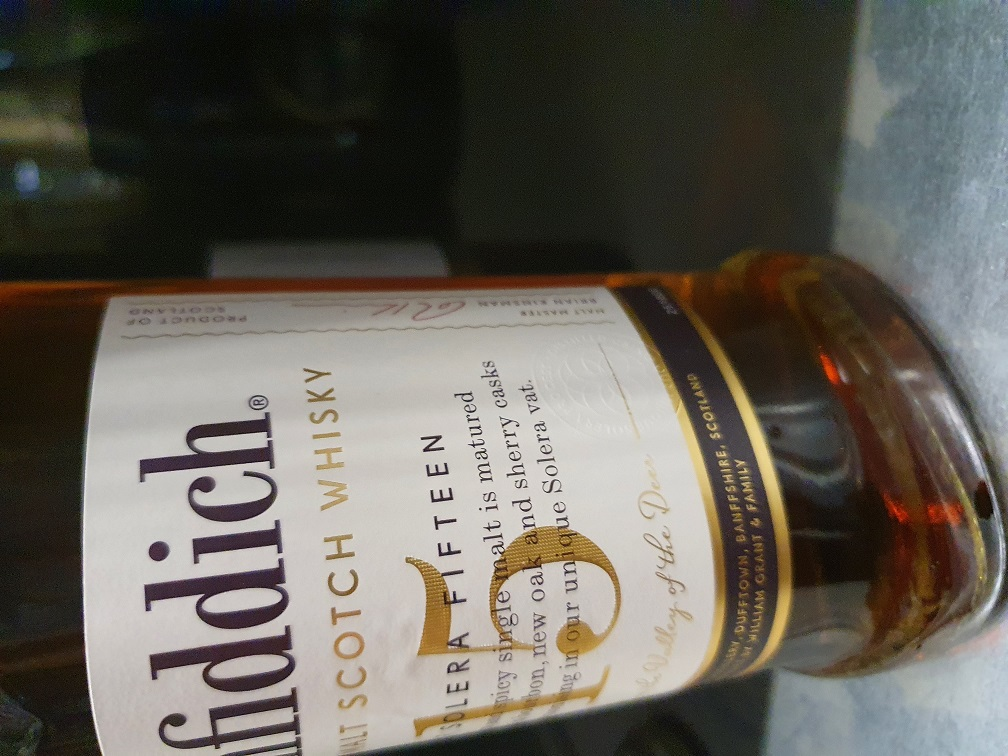 Glenfiddich new label