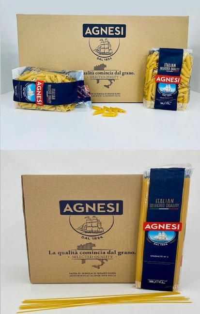 AGNESI the traditional Italian Pasta