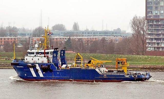 Seismic Research Support Vessel Ice 1c  + Offshore Support Vessel for sale