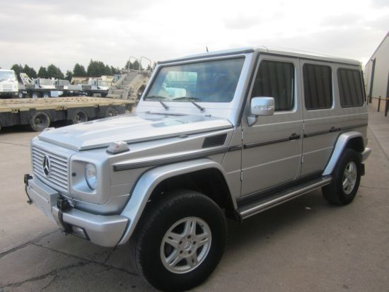 Offer - 3 x Mercedes G-Class G500 Level B6 MB Factory Armoured - Low Mileage - LHD